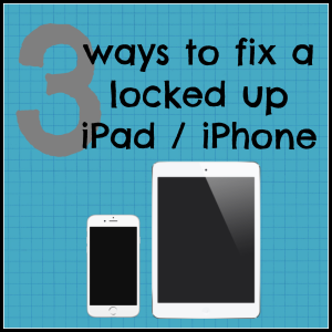 iphone ipad tips locked up frozen