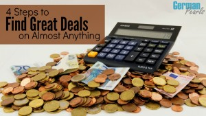 Deal Finding - Are you someone who never pays full retail? To make sure you always get a great deal follow these tips to save money on almost anything.