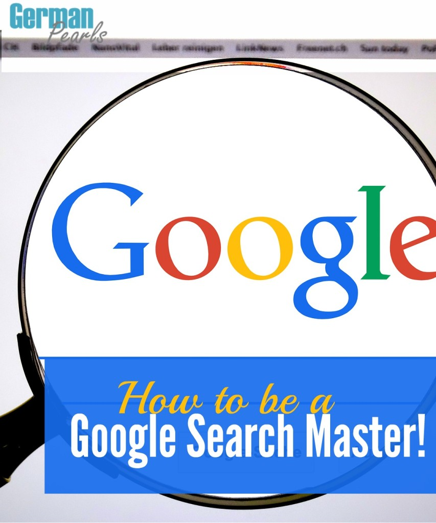 Get the most out of your Google Search with these quick and easy tools. Save time and frustration by finding what you need faster.