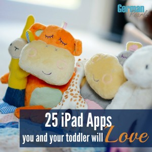 25 Toddler iPad Apps