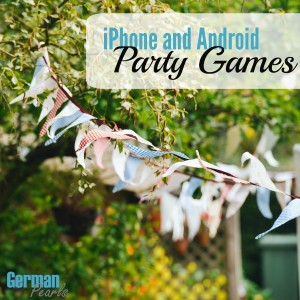 Fun iPhone and Android party games to play at your Memorial Day party with your family and friends!