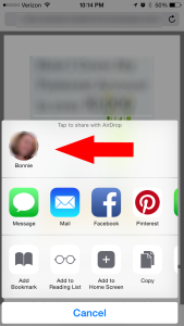 An introduction and tutorial on how to use airdrop - the quickest way to share pictures, videos, websites, locations and more using your iPhone or iPad.