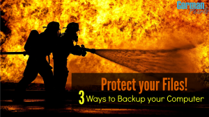 You never know when disaster will strike....protect your pictures, music and files. Here are three different techniques for backing up your tech life.