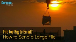 Have you ever tried to email a large file only for it to be bounced back because it was too big? Here's how to transfer big files to share with others.