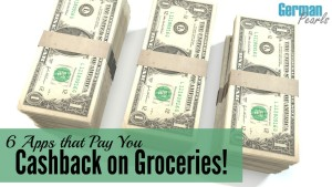 Technology is providing us new ways to do all sorts of things, including save money on groceries! Discover these 6 apps which pay you cashback on groceries and more!