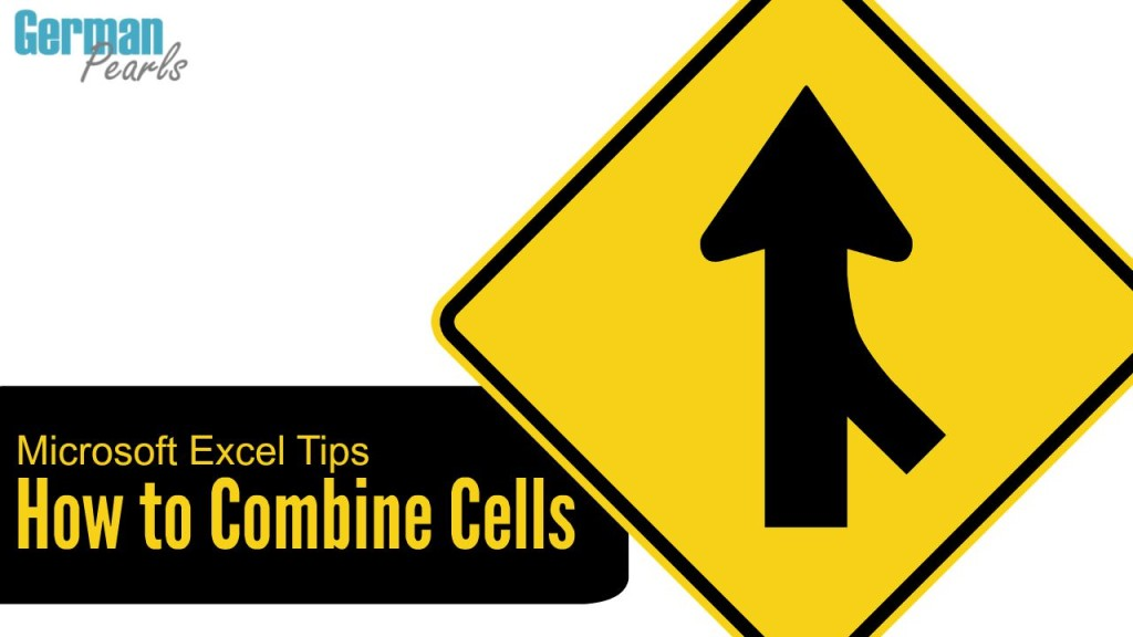 How to combine (or concatenate) cells in Microsoft Excel with an example on how to combine first and last names from two cells into one.