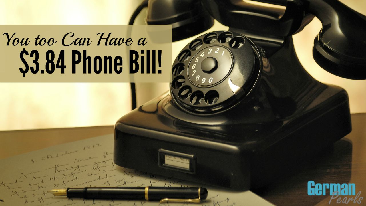 Free Home Phone Service Keep Your Landline Not The Bill German Pearls