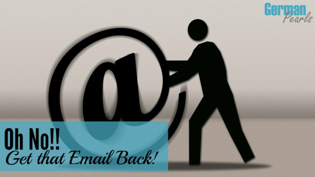 Oops! You just hit the sent button and realize you want that email back. Want to unsend an email in gmail? Now you can. We'll show you how.