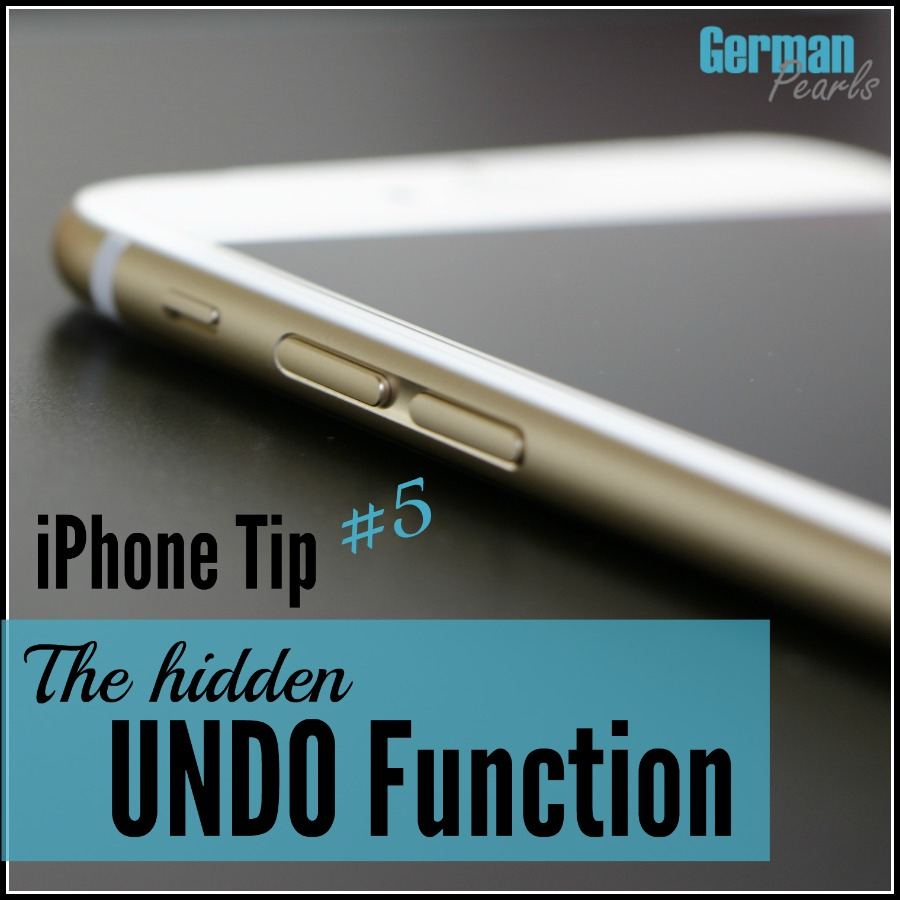 iPhone Tip #5 - There's a handy UNDO feature built into your iPhone or iPad that most people don't know about. Here's a quick demo on how to undo typing in a text, email and more. I love this iPhone hack.