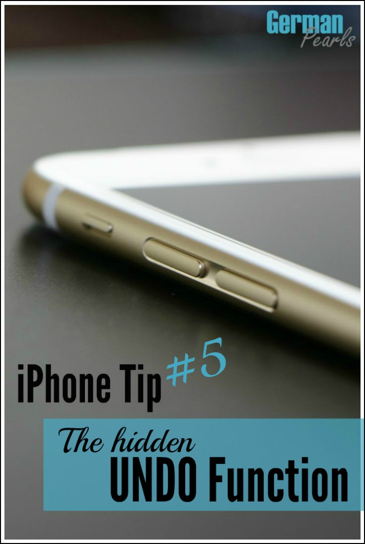 iPhone Tip #5 - There's a handy UNDO feature built into your iPhone or iPad that most people don't know about. Here's a quick demo on how to undo typing in a text, email and more.