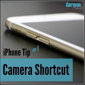 iPhone Tricks and Tips #1 - A Shortcut to your camera so you never miss the perfect picture!