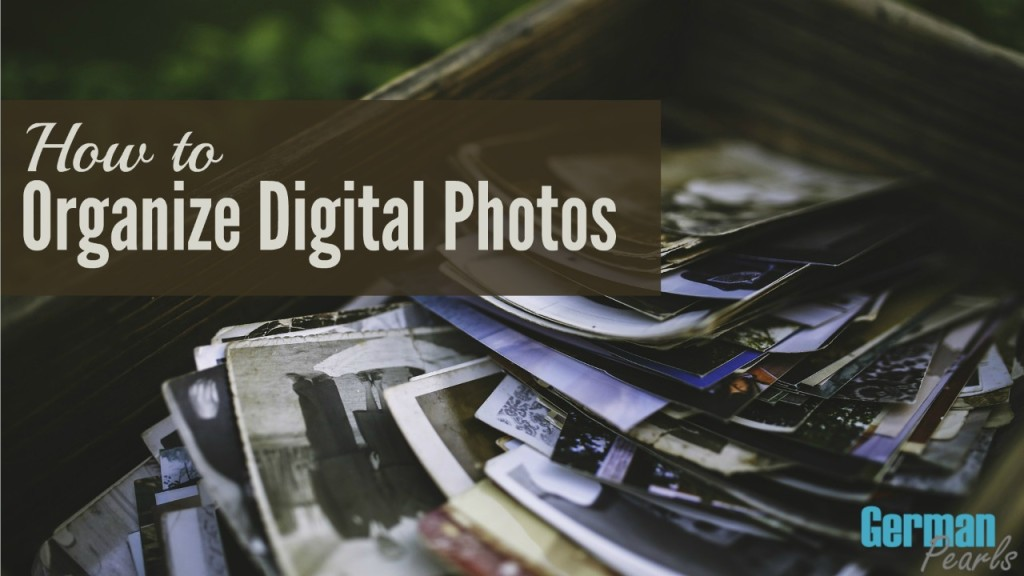 How to Organize your Digital Photos - YouTube