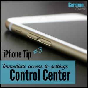 iPhone Control Center - An introduction and quick tutorial on how to access the iPhone control center where some of the most commonly used functions are available