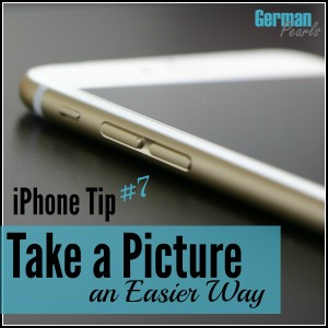 Take a picture an easier way with your iPhone. Here's a trick to holding your iPhone and taking a picture with one hand.