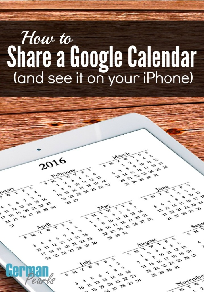 At work or home sharing a calendar with others can be very helpful. Here's how to share google calendar (s) and the hidden trick to see them on your iPhone.