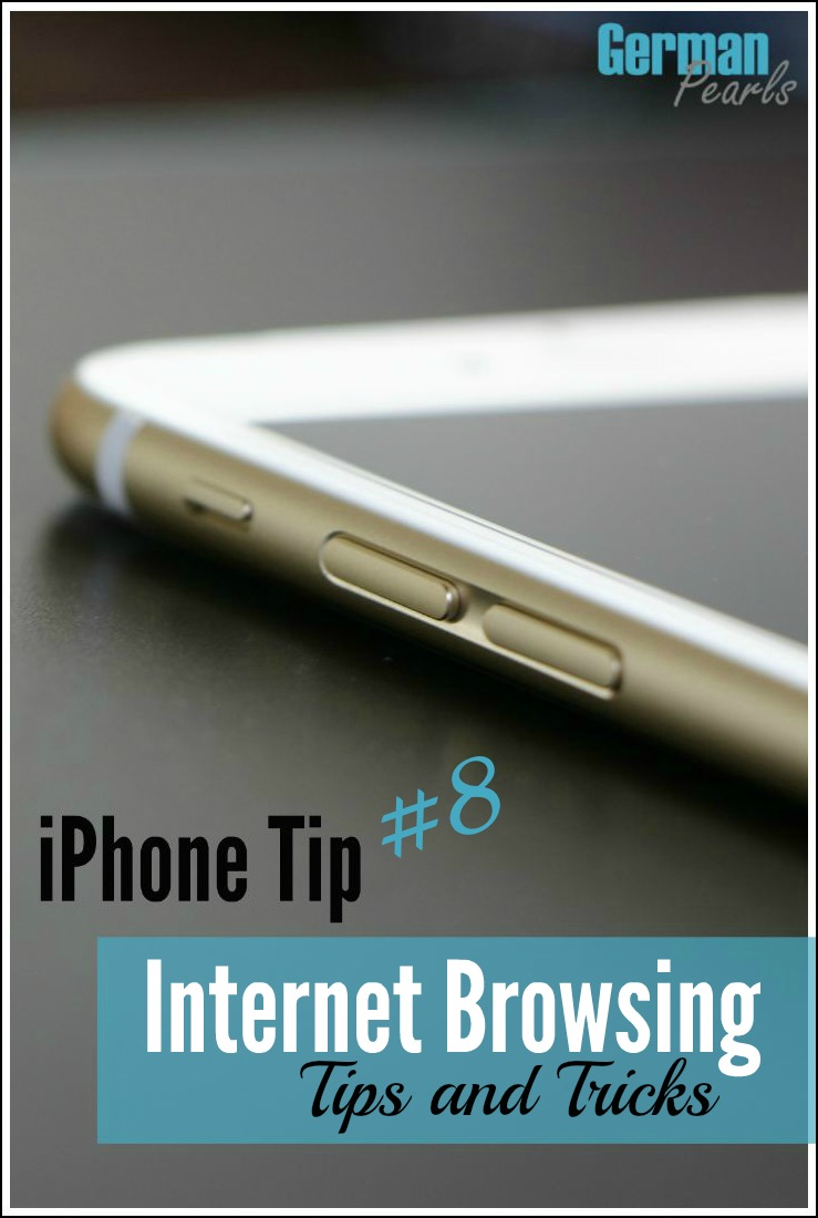 IPhone internet browsing tips and tricks to help you navigate the internet easier on your iPhone.