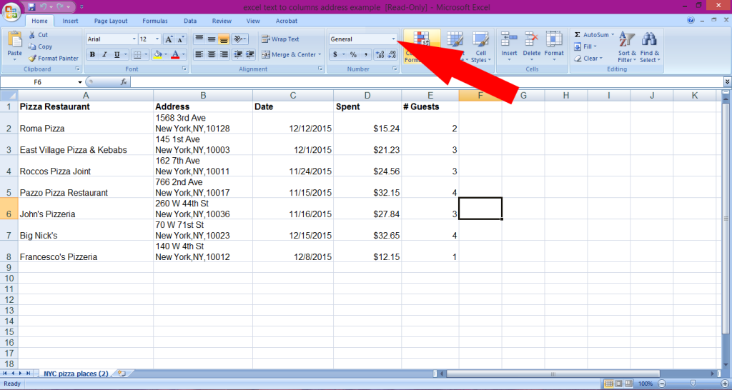Excel Column Number From Column Letter