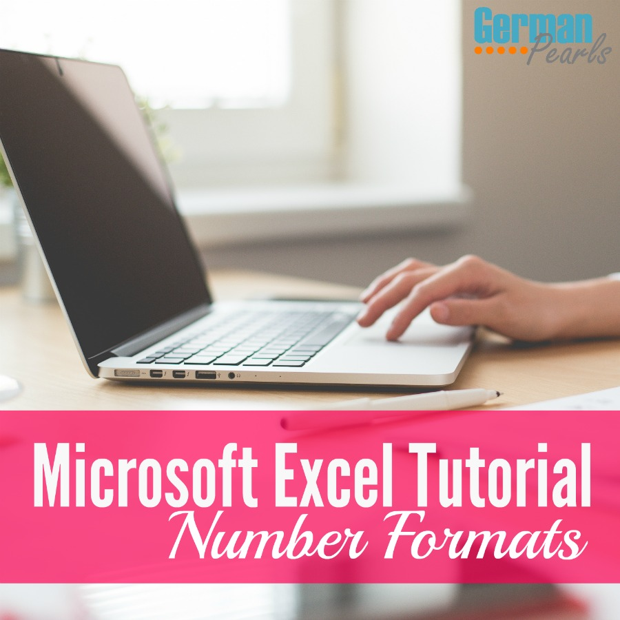 A tutorial on the Microsoft Excel number format. What types of information can I put into those excel boxes and how can I format that information?