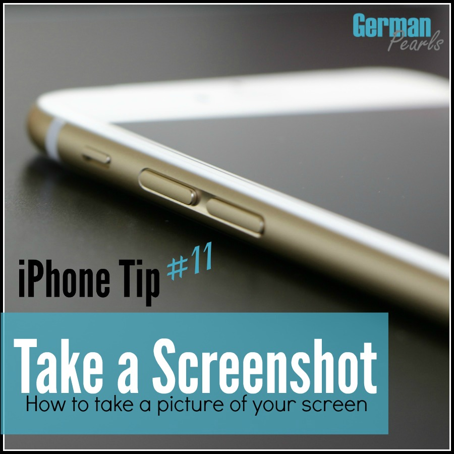 iPhone Tip #11 - Take a Screenshot of your iPhone or iPad