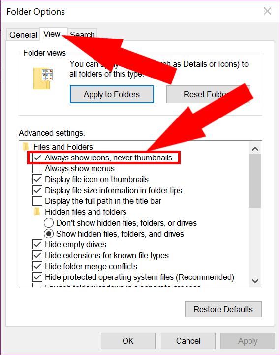 Picture Thumbnails Not Showing in Windows Explorer? Here's how to Get Them Back