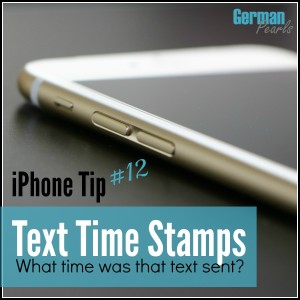 iPhone Tip #12 - How to Find Text Timestamps (What time was that SMS or iMessage sent?) | How to see an iPhone message timestamp | How to see an iMessage timestamp