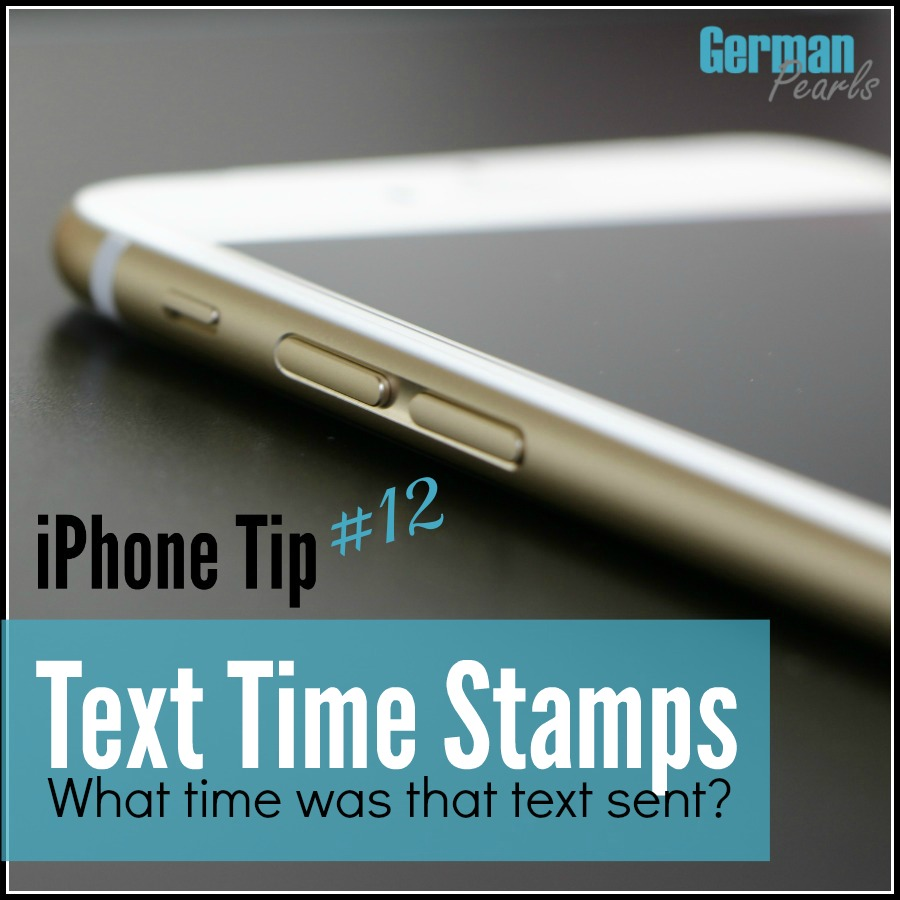 iPhone Tip #12 - How to Find Text Timestamps (What time was that SMS or iMessage sent?)