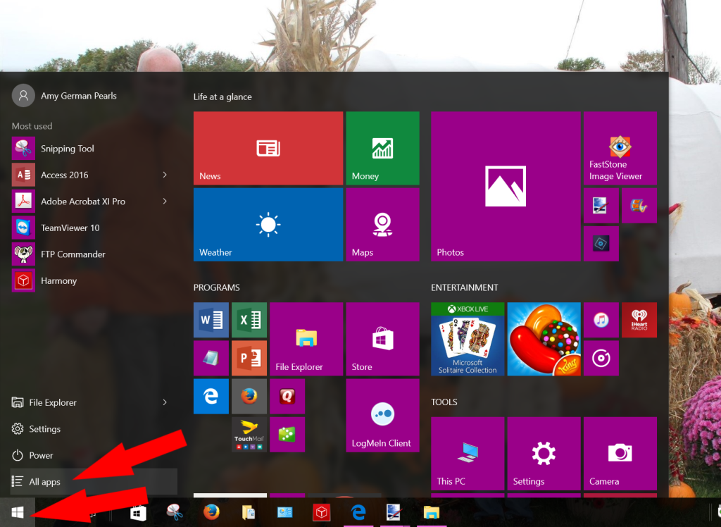 how to add a google chrome shortcut to the windows 10 start menu