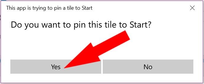 How to Add an Internet Shortcut to Windows 10 Start Menu