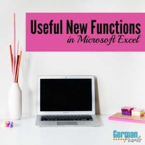 Get the most value from your Microsoft Office Updates with these useful new functions in a recent Microsoft Excel Update.