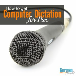 Windows has a built in function to convert speech to text for free. No buying expensive software. Dictate to your computer and turn your voice into text.
