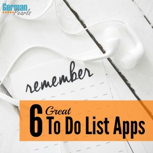 6 Great To Do List Apps