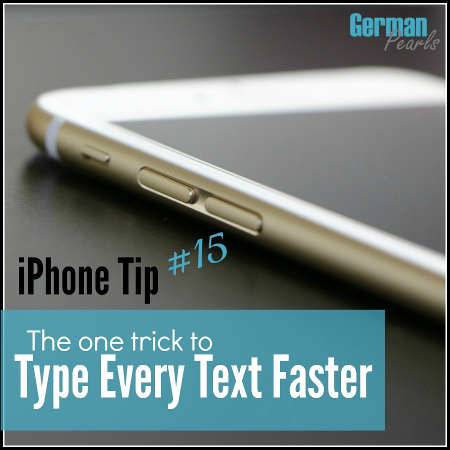 Finally a way to text faster on my iPhone and iPad