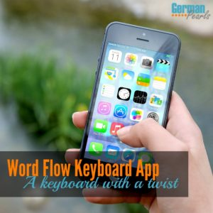 Word Flow Keyboard App for iPhone