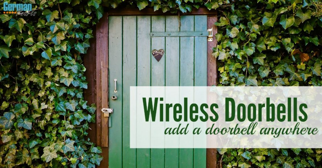 A wireless doorbell is a quick and easy way to add a doorbell anywhere. No need for wiring or to pay an electrician.