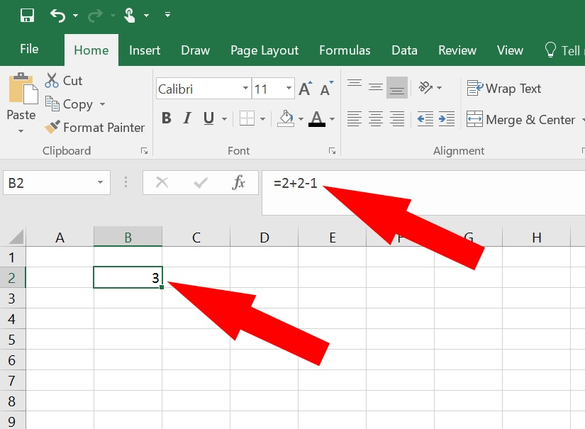 How to Add in Excel - adding numbers in Excel