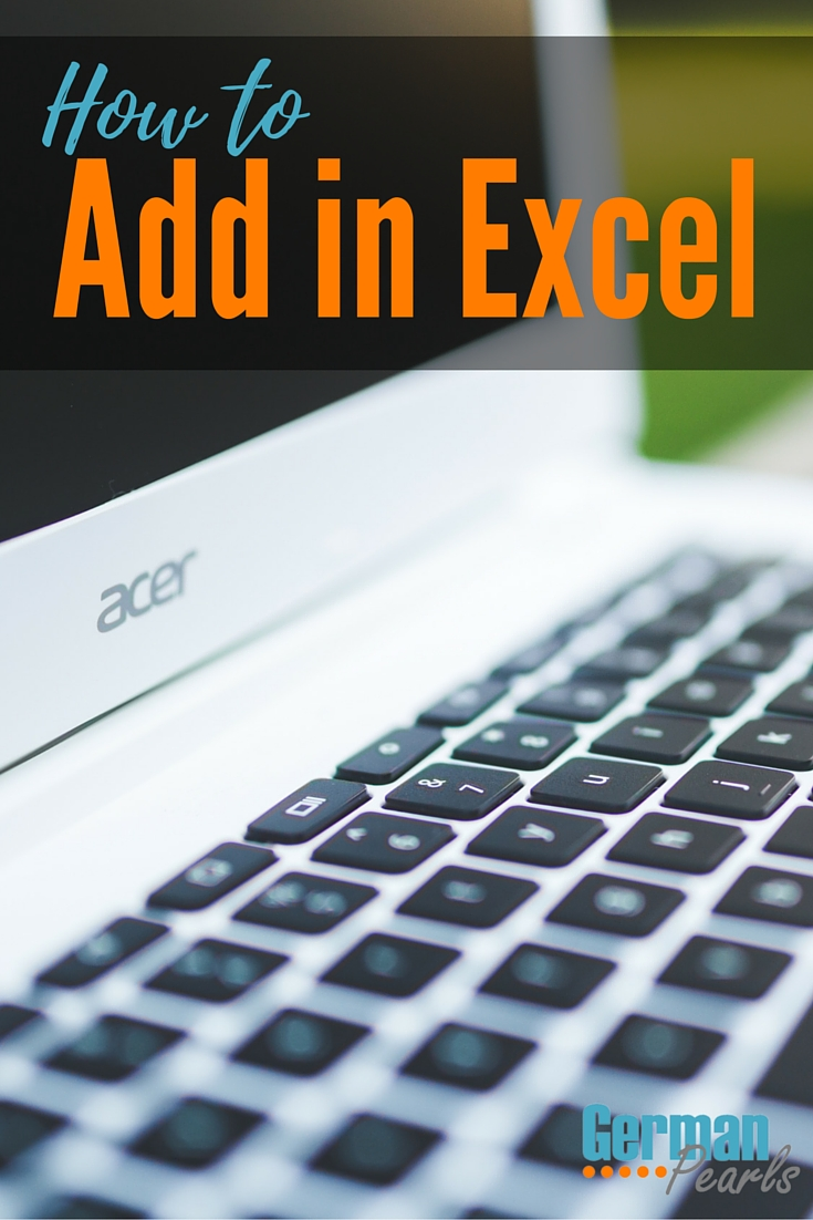 In this Microsoft Excel tutorial we'll show you how to add in Excel. Use Excel formulas and built in functions to add numbers, cells and columns.