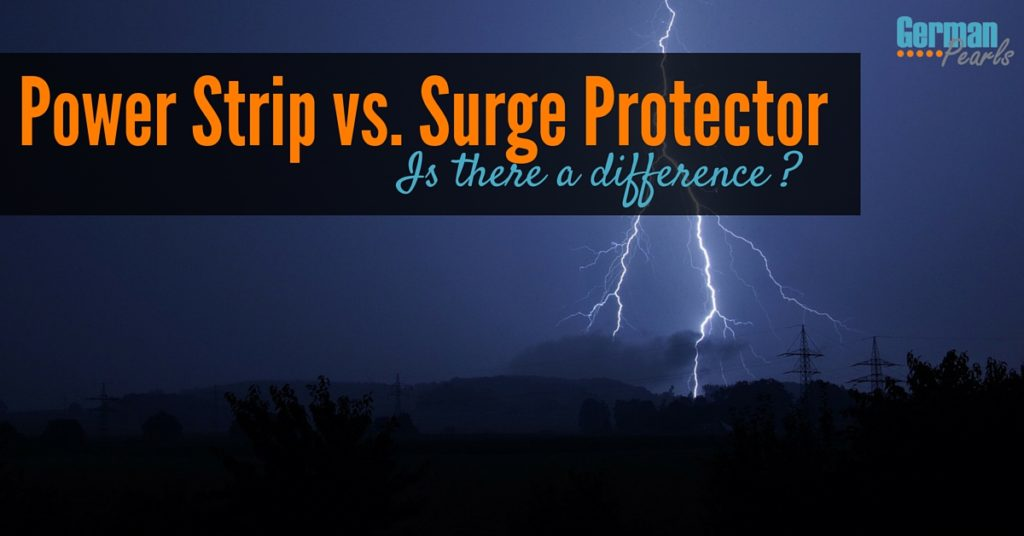 Is there a difference between a power strip and surge protector? Yes and buying the wrong one can be costly. Learn about surge protectors and joule ratings.