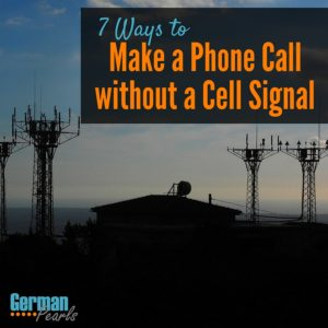 If you live in an area of bad cell phone reception here are some great options for making a phone call without cell signal.