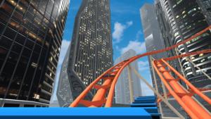 VR Roller Coaster App