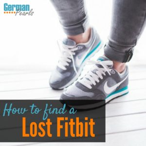 Help! I lost my fitbit! Here's how to find your lost fitbit