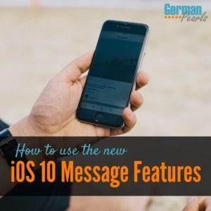 New iOS 10 Message Features and How to Use Them