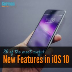36 of the Best New Features in iOS 10