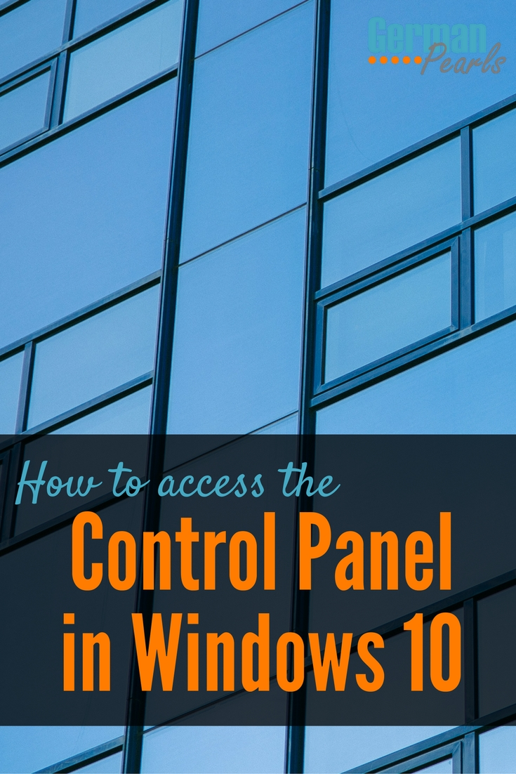 As a new user I was so frustrated trying to find the control panel in Windows 10. Now I've been using the first method mentioned here, although the other ones are easy as well.