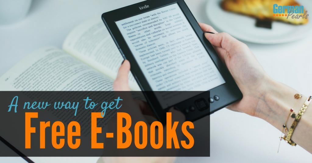 A new way to get books free! Free E-books