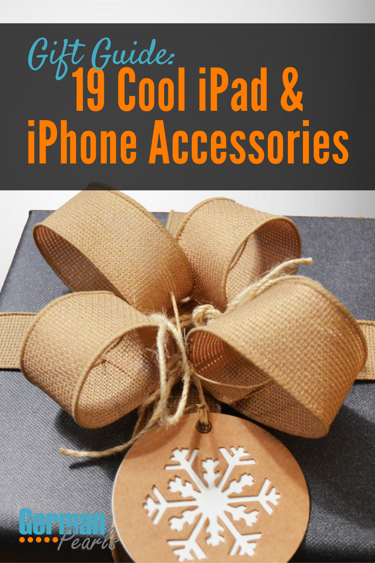 Cool iPhone Accessories | Gift Guide for iPhone Lovers | iPad Users Gift Ideas