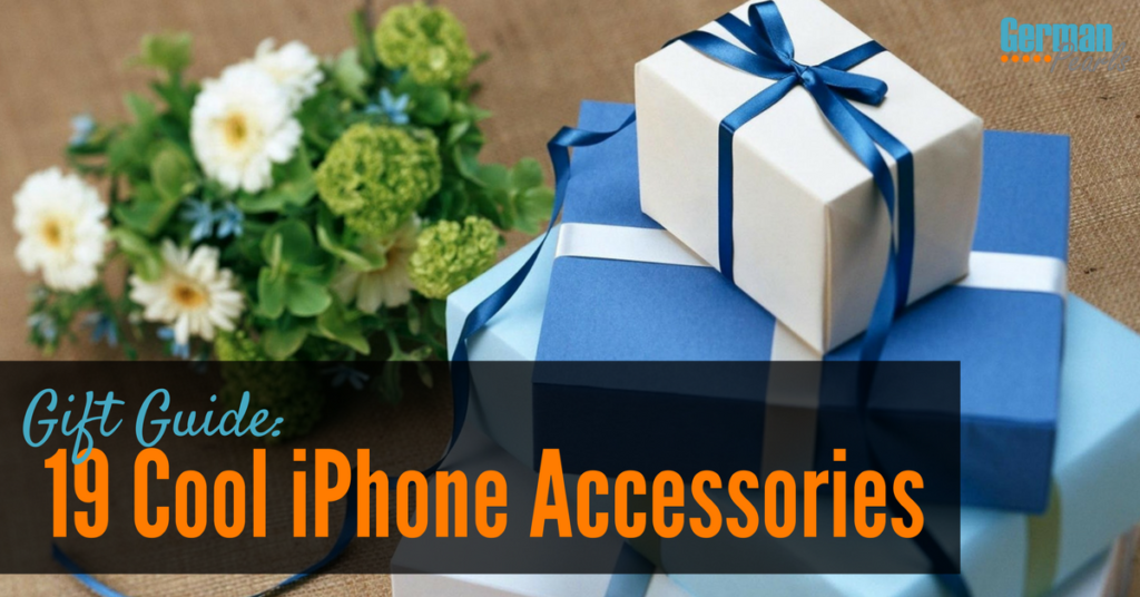 Gift Guide: Cool iPhone Accessories for any iPhone or iPad lover