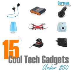 15 Cool Tech Gadgets Under $50