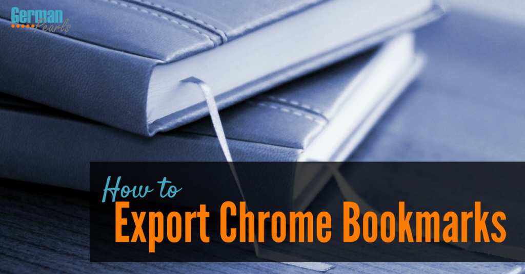 How to Export Chrome Bookmarks to Firefox
