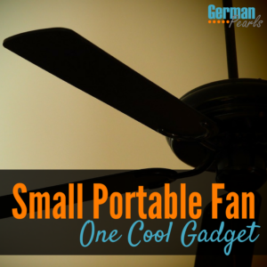 This Small Portable Fan is One Cool Gadget