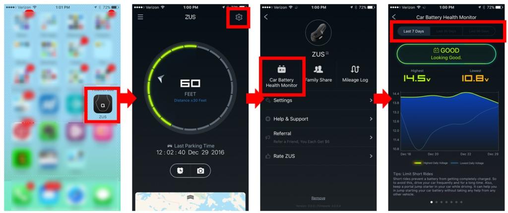 Car Battery Tester App